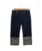 rag&bone(ラグアンドボーン)の古着「ロールアップデザインデニム」|インディゴ