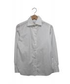 Maria Santangelo(マリアサンタンジェロ)の古着「無地シャツ」|ホワイト