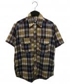 eYe COMME des GARCONS JUNYAWATANABE MAN(アイ コムデギャルソン ジュンヤワタナベマン)の古着「マドラスチェックシャツ」|ブラウン