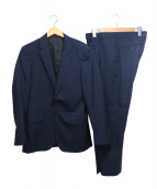 MENS BIGI(メンズビギ)の古着「セットアップスーツ」|ネイビー