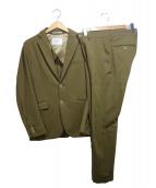 417 by EDIFICE(フォーワンセブンバイエディフィス)の古着「セットアップスーツ」|カーキ