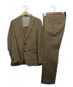 green label relaxing(グリーンレーベルリラクシング)の古着「セットアップスーツ」|ブラウン