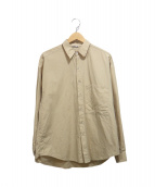 AURALEE(オーラリー)の古着「WASHED FINX TWILL BIG SHIRTS A」