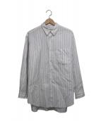 COMME des GARCONS HOMME(コムデギャルソンオム)の古着「ストライプシャツ」