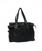 Y's(ワイズ)の古着「ホースハイドレザートートバッグ」|ブラック