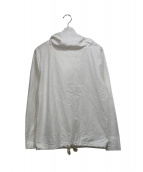 INST DESIGN WORK(インストデザインワーク)の古着「デッキパーカー」|ホワイト