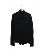 YohjiYamamoto pour homme(ヨウジヤマモト プールオム)の古着「袖切替デザインシルクシャツ」