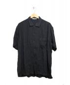 ISSEY MIYAKE MEN(イッセイ ミヤケ メン)の古着「リネン縮絨デザインシャツ」|グレー