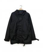 ROTOL(ロトル)の古着「テープデザインフーデッドコート」 ブラック