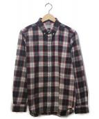 WACKO MARIA(ワコマリア)の古着「チェックシャツ」|レッド