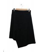 Yulia Yefimtchuk(ユリア イエンフィムチュック)の古着「デザインスカート」|ブラック