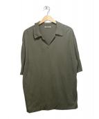 AURALEE(オーラリー)の古着「HIGH GAUGE PIQUE DOUBLE CLOTH 」|カーキ
