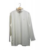 DROLE DE MONSIEUR(ドロールドムッシュ)の古着「HIGH NECK ZIPPED TOP」|ホワイト