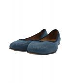 HIROFU(ヒロフ)の古着「パンプス」|ブルー