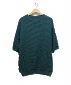 crepuscule(クレプスキュール)の古着「S/S Knit」|グリーン