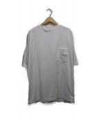 unfil(アンフィル)の古着「ポケットTシャツ」|ホワイト
