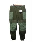 Engineered Garments(エンジニアードガーメンツ)の古着「Moto Pant Malibu Poplin」|カーキ