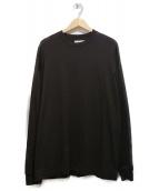 unfil(アンフィル)の古着「長袖Tシャツ」|ブラウン