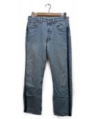 ()の古着「Levis 501 remake denim pants」|インディゴ