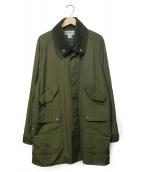 "SASSAFRAS(ササフラス)の古着「Fall Leaf Tube Coat""60/40""」|グリーン"