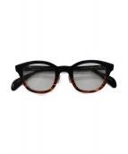 KANEKO OPTICAL(金子眼鏡)の古着「伊達眼鏡」|ブラック×ブラウン