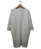 GOUT COMMUN(グーコミューン)の古着「ブラウスワンピース」|ホワイト