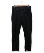 UNUSED(アンユーズド)の古着「デニムパンツ」|ブラック