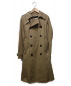 HYKE(ハイク)の古着「ウールライナー付トレンチコート」|ブラウン