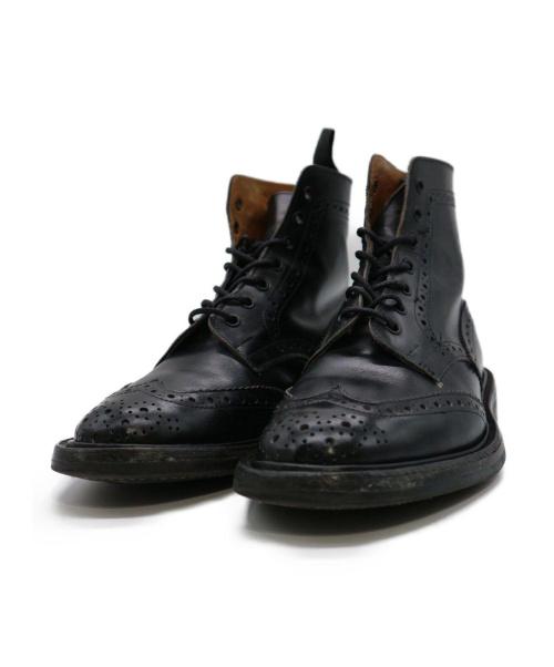 Tricker's(トリッカーズ)Tricker's (トリッカーズ) カントリーブーツ ブラック サイズ:6 M2508の古着・服飾アイテム