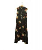 JILL STUART(ジルスチュアート)の古着「ナターシャ襟付きワンピース」|ブラック