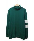 MSGM(エムエスジーエム)の古着「ハイネクスウェット」|グリーン