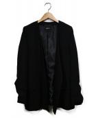 DRWCYS(ドロシーズ)の古着「ウォッシャブルジャケット」|ブラック