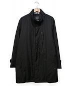 BURBERRY LONDON(バーバリーロンドン)の古着「ダウンライナー付ナイロンコート」|ブラック
