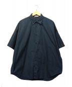N.HOOLYWOOD(エヌハリウッド)の古着「半袖シャツ」|ネイビー