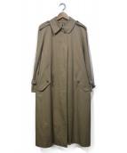 Burberrys(バーバリーズ)の古着「オールドステンカラーコート」 ベージュ