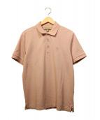 BURBERRY(バーバリーズ)の古着「ポロシャツ」|ピンク