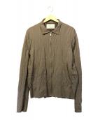KOLOR(カラー)の古着「C/W カーリングギャバジン ジップアップジャケット」|グレー