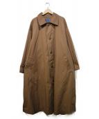 ISSEY MIYAKE(イッセイミヤケ)の古着「80'Sオーバーサイズデザインコート」|ブラウン