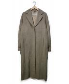 MaxMara(マックスマーラ)の古着「ウールカシミヤロングコート」|ベージュ