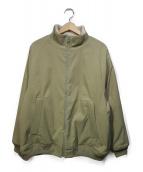 YAECA(ヤエカ)の古着「スタンドネックジップジャケット」|ベージュ