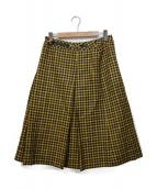 CELINE(セリーヌ)の古着「スカート」|イエロー×ブラック