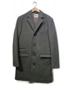 FACTOTUM(ファクトタム)の古着「チェスターコート」|グレー