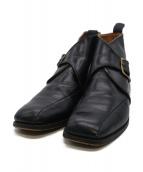 Tricker's(トリッカーズ)の古着「シングルモンクストラップブーツ」|ブラック