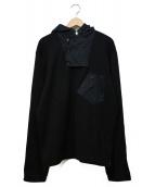 RALPH LAUREN BlackLabel(ラルフローレンブラックレーベル)の古着「デザイン切替POジャケット」|ブラック×グリーン