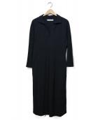 seya(セヤ)の古着「POLO JERSEY DRESS」|グレー