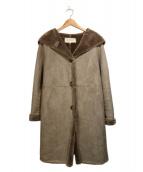 RAY BEAMS(レイビームス)の古着「フーデッドコート」|ベージュ
