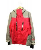 Columbia(コロンビア)の古着「フロストフリージャケット」|グレー×ピンク