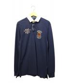 POLO RALPH LAUREN(ポロラルフローレン)の古着「ラガーシャツ」|ネイビー