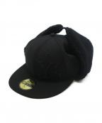 New Era()の古着「DOGEAR YS LOGO CAP」|ブラック