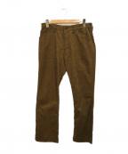 STABILIZER GNZ(スタビライザージーンズ)の古着「コーデュロイパンツ」|ブラウン
